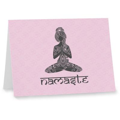 Lotus Pose Notecards (Personalized)