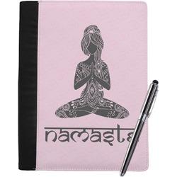 Lotus Pose Notebook Padfolio (Personalized)