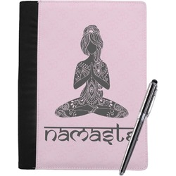 Lotus Pose Notebook Padfolio (Personalized)