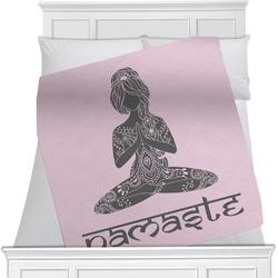Lotus Pose Blanket (Personalized)