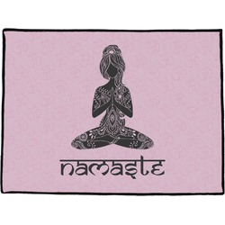 Lotus Pose Door Mat (Personalized)