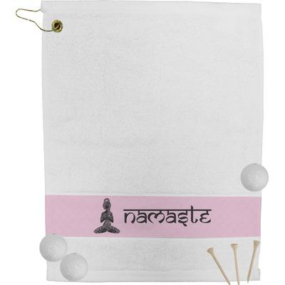Lotus Pose Golf Bag Towel