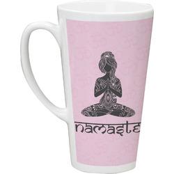 Lotus Pose Latte Mug (Personalized)