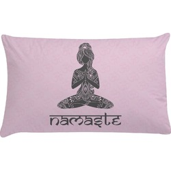 Lotus Pose Pillow Case (Personalized)