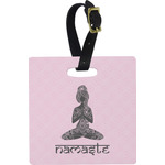 Lotus Pose Luggage Tags (Personalized)
