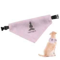 Lotus Pose Dog Bandana (Personalized)