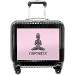 Lotus Pose Pilot / Flight Suitcase (Personalized)
