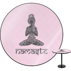 Lotus Pose Round Table (Personalized)
