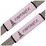 Lotus Pose Seat Belt Covers (Set of 2) (Personalized)