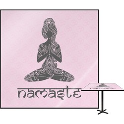 Lotus Pose Square Table Top (Personalized)
