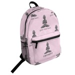 Lotus Pose Student Backpack (Personalized)