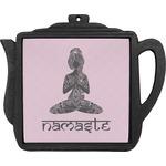 Lotus Pose Teapot Trivet (Personalized)