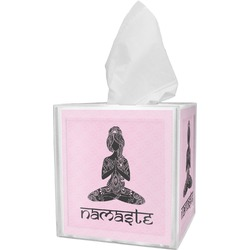 Lotus Pose Tissue Box Cover (Personalized)