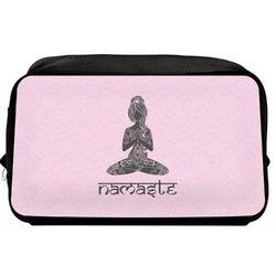 Lotus Pose Toiletry Bag / Dopp Kit (Personalized)