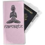 Lotus Pose Travel Document Holder