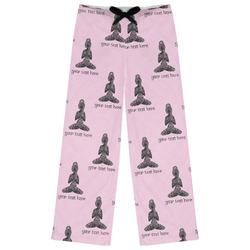 Lotus Pose Womens Pajama Pants (Personalized)