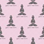 Lotus Pose Wrapping Paper (Personalized)