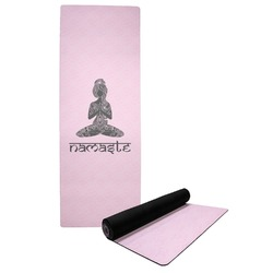 Lotus Pose Yoga Mat (Personalized)