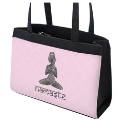 Lotus Pose Zippered Everyday Tote (Personalized)