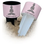 Lotus Pose Beach Spiker Drink Holder (Personalized)