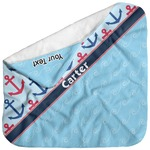 Anchors & Waves Baby Hooded Towel (Personalized)