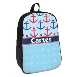 Anchors & Waves Kids Backpack (Personalized)