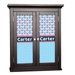 Anchors & Waves Cabinet Decal - Custom Size (Personalized)