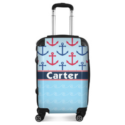 Anchors & Waves Suitcase (Personalized)