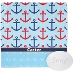 Anchors & Waves Wash Cloth (Personalized)