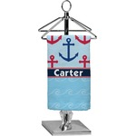 Anchors & Waves Finger Tip Towel - Full Print (Personalized)