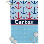 Anchors & Waves Golf Towel - Full Print (Personalized)