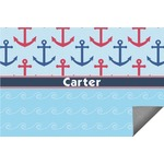 Anchors & Waves Indoor / Outdoor Rug (Personalized)