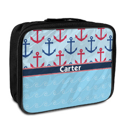Anchors & Waves Insulated Lunch Bag (Personalized)