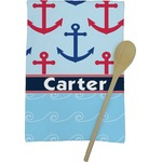 Anchors & Waves Kitchen Towel - Full Print (Personalized)