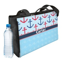 Anchors & Waves Ladies Workout Bag (Personalized)
