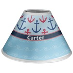 Anchors & Waves Coolie Lamp Shade (Personalized)