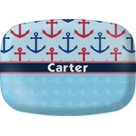 Anchors & Waves Melamine Platter (Personalized)