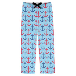 Anchors & Waves Mens Pajama Pants (Personalized)