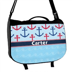 Anchors & Waves Messenger Bag (Personalized)