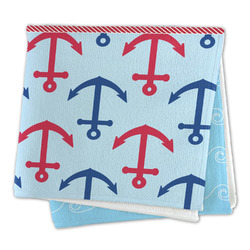 Anchors & Waves Large Microfiber Dish Rag (Personalized)