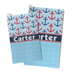 Anchors & Waves Microfiber Golf Towel (Personalized)