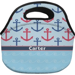 Anchors & Waves Lunch Bag (Personalized)