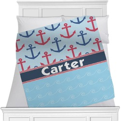 Anchors & Waves Blanket (Personalized)