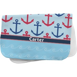 Anchors & Waves Burp Cloth (Personalized)