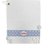 Anchors & Waves Golf Towel (Personalized)
