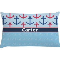 Anchors & Waves Pillow Case (Personalized)