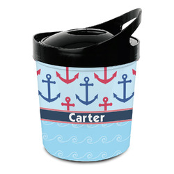 Anchors & Waves Plastic Ice Bucket (Personalized)