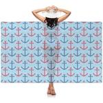 Anchors & Waves Sheer Sarong (Personalized)