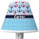 Anchors & Waves Shade Night Light (Personalized)