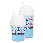 Anchors & Waves Sippy Cup (Personalized)
